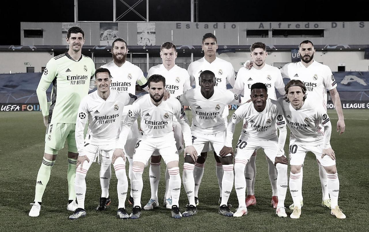 Real Madrid - Atalanta: puntuaciones del Real Madrid, vuelta de los octavos de final de la Champions League
