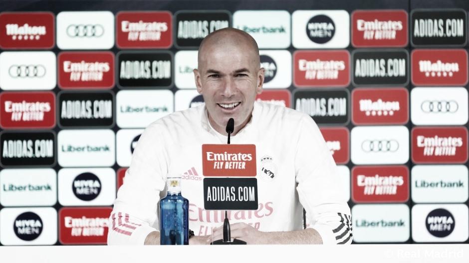 """Zinedine Zidane: """"Queremos seguir creciendo como equipo"""""""