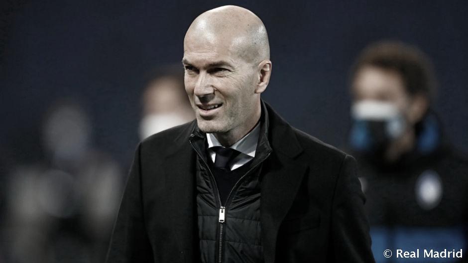 Satisfeito com vantagem diante da Atalanta, Zidane critica atuação do Real Madrid