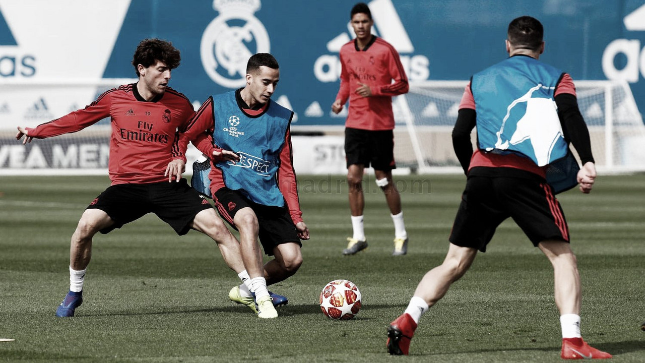 La convocatoria del Real Madrid para su partido ante el Ajax