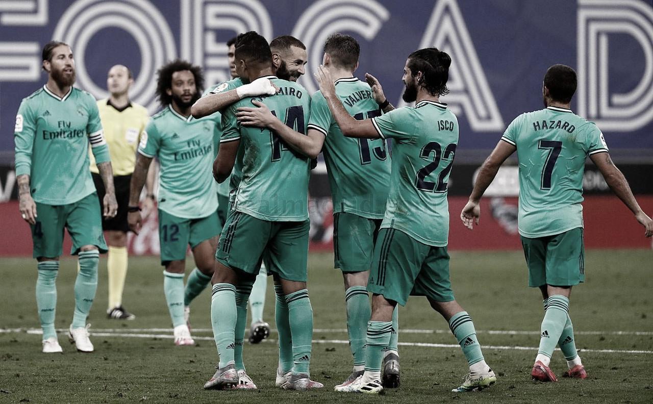 La historia sonríe al Madrid