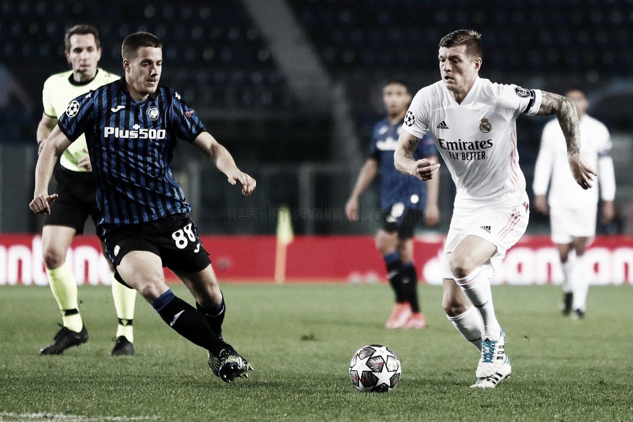 Resumen de Real Madrid vs Atalanta en Champions League 2021 (3-1)