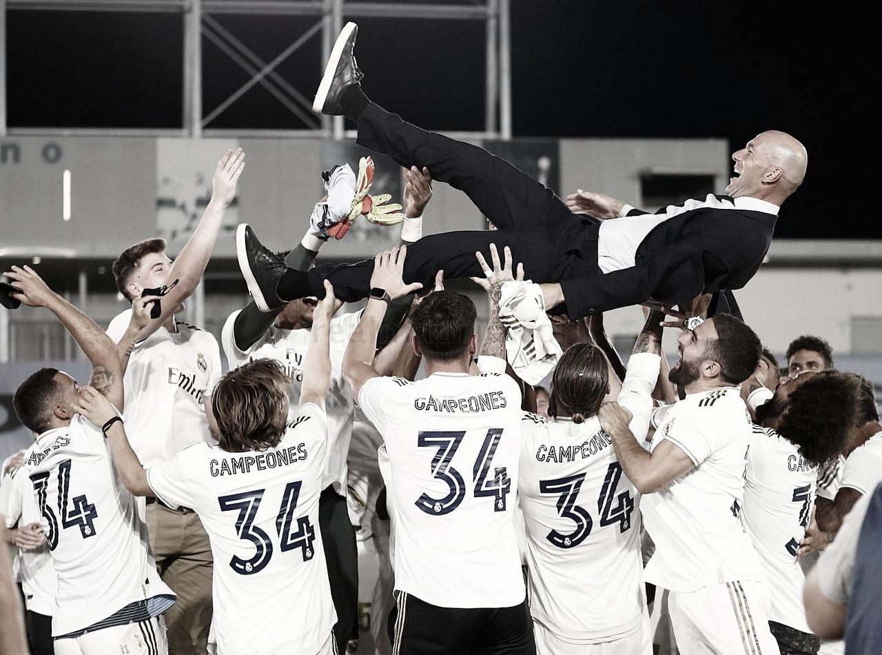 El Real Madrid no falla en casa