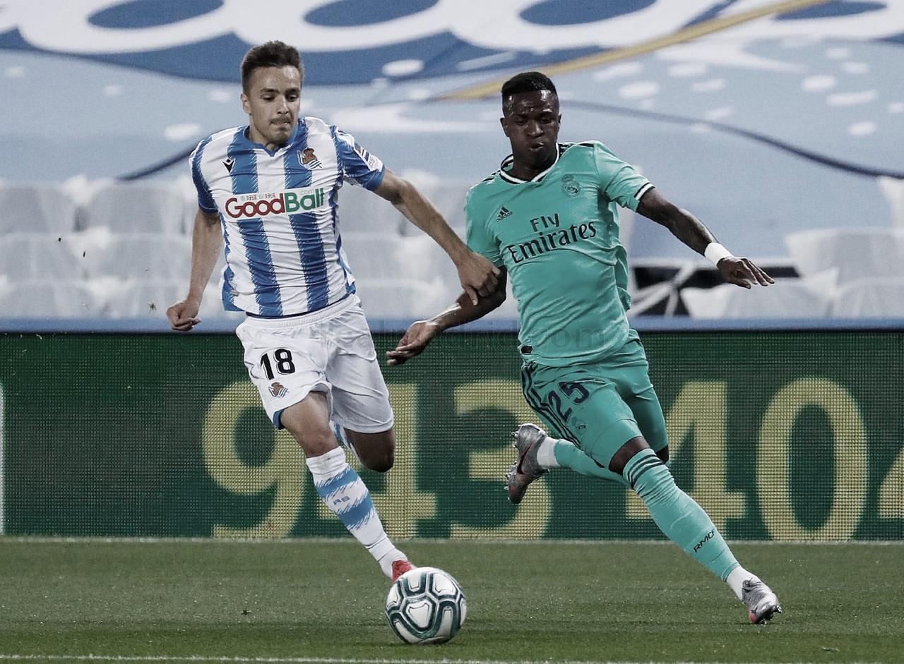 Real Sociedad - Real Madrid: puntuaciones Real Madrid, jornada 30 de La Liga