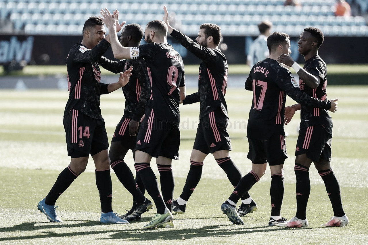 Celta de Vigo - Real Madrid: puntuaciones del Real Madrid en la 28ª jornada de LaLiga Santander