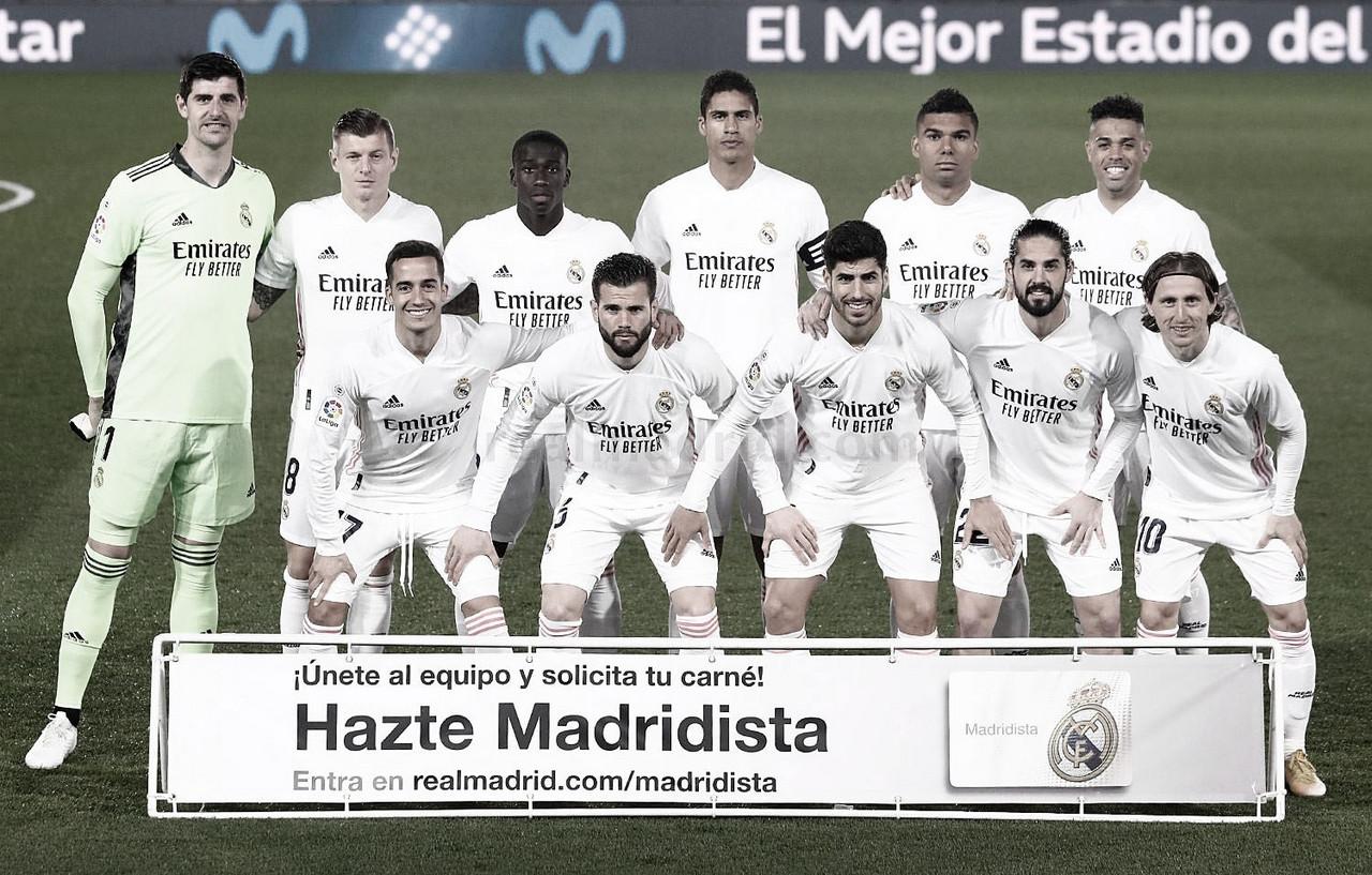 Real Madrid - Real Sociedad: puntuaciones del Real Madrid, 25ª jornada de LaLiga Santander
