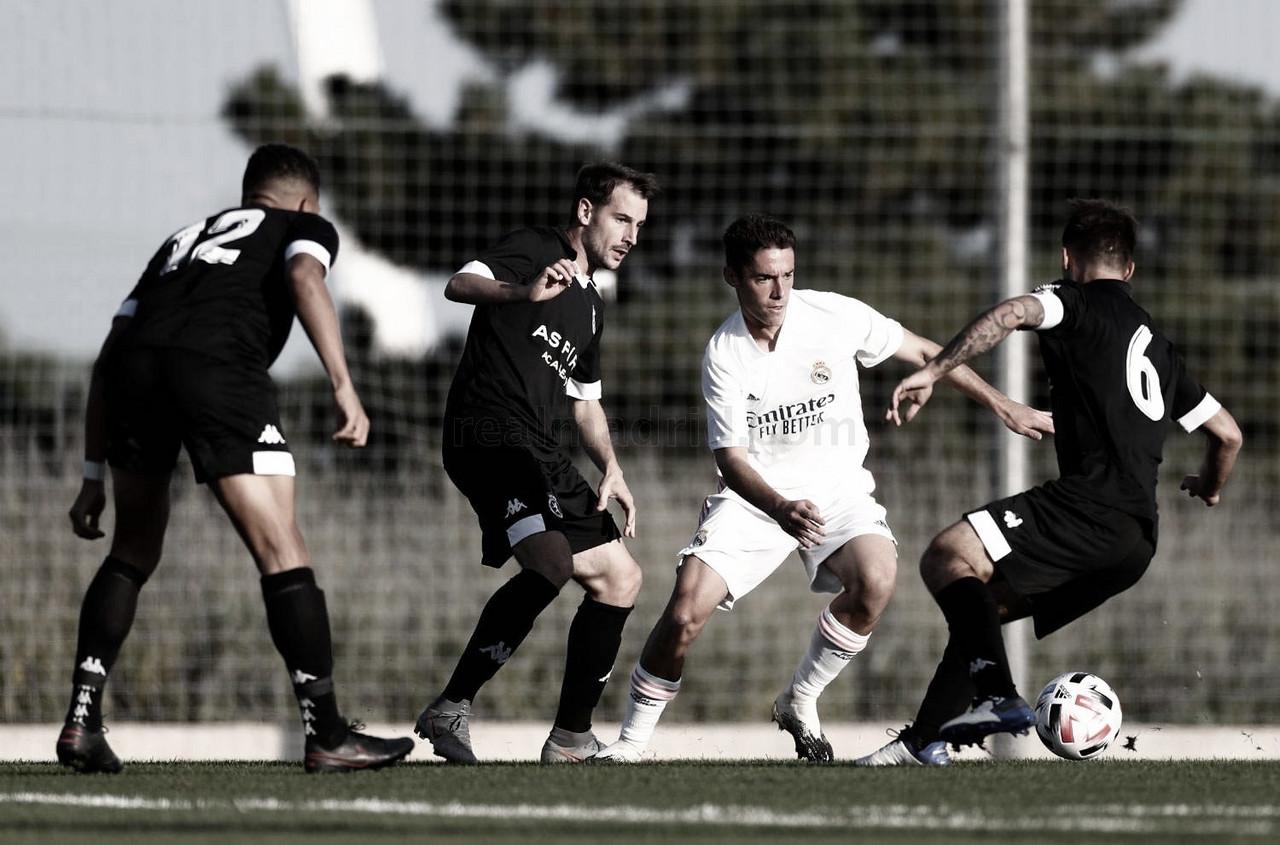Sergio Arribas debuta con el Real Madrid Castilla