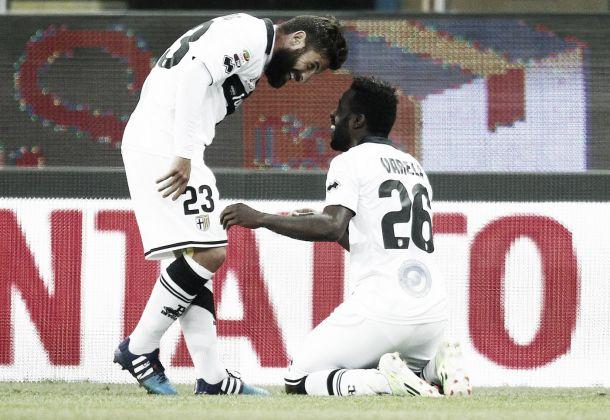 Parma - Udinese: Varela regala una gioia ai ducali