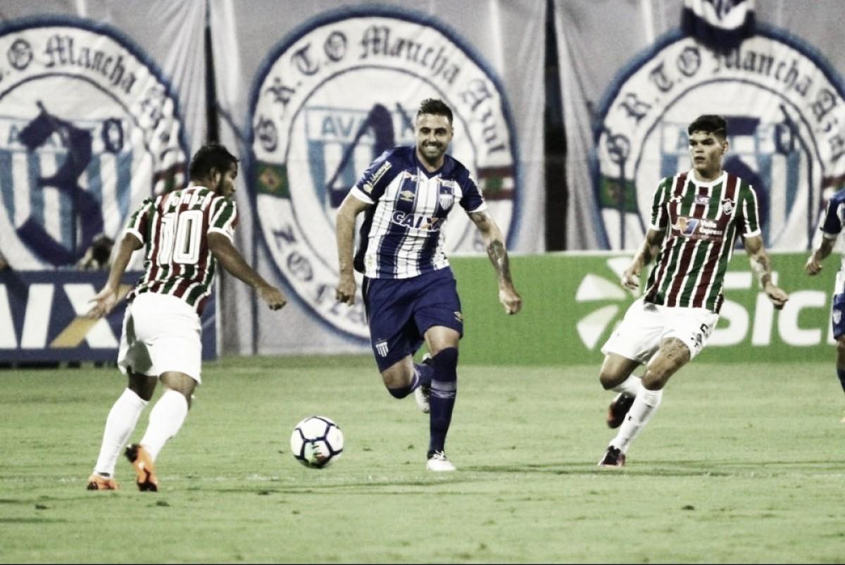 Avaí vence novamente Fluminense e avança de fase na Copa do Brasil