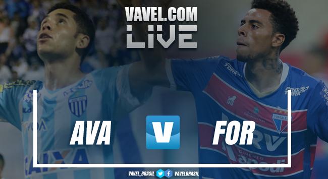 Resultado e gol Avaí 0 x 1 Fortaleza na Série B do Campeonato Brasileiro 2018