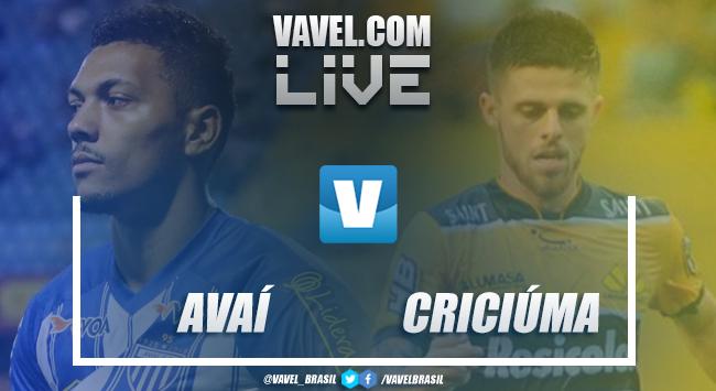 Resultado e gols de Avaí x Criciúma pelo Campeonato Catarinense [4(1-1)2]