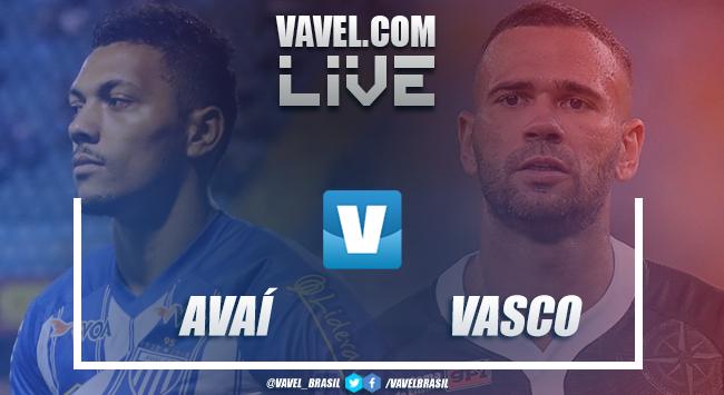 Resultado Avaí x Vasco pela Copa do Brasil (0-1)