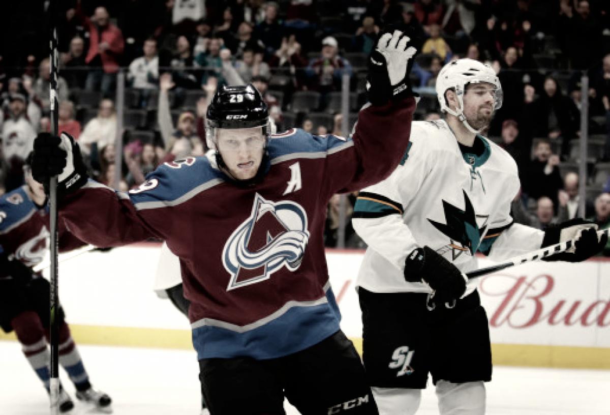 La estrella de los Avalanche, Nathan MacKinnon, vuelve a las pistas