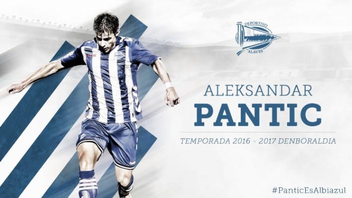 Alavés anuncia acerto com jovens zagueiros Aleksandar Pantić e Theo Hernandez