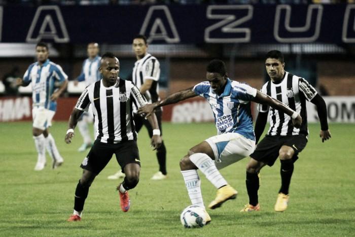 Avaí recebe Santos buscando recuperação após duas derrotas seguidas