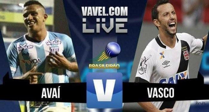 Resultado Vasco x Avaí pela Série B do Campeonato Brasileiro (0-0)