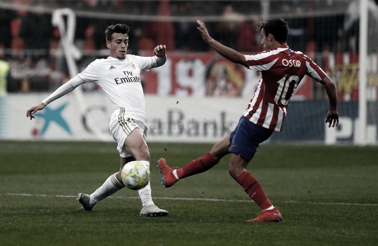 El Atlético de Madrid B, último rival del año para el Castilla