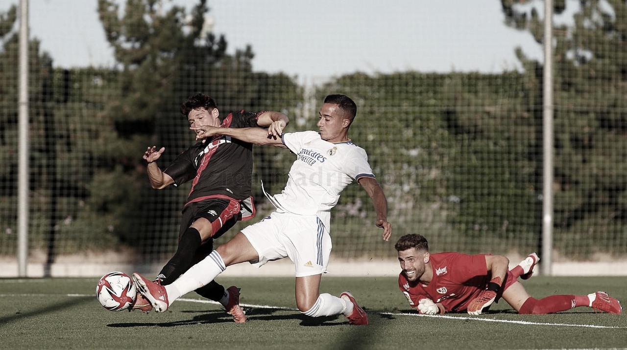 El Real Madrid jugó su segundo partido de entrenamiento frente al Rayo Vallecano