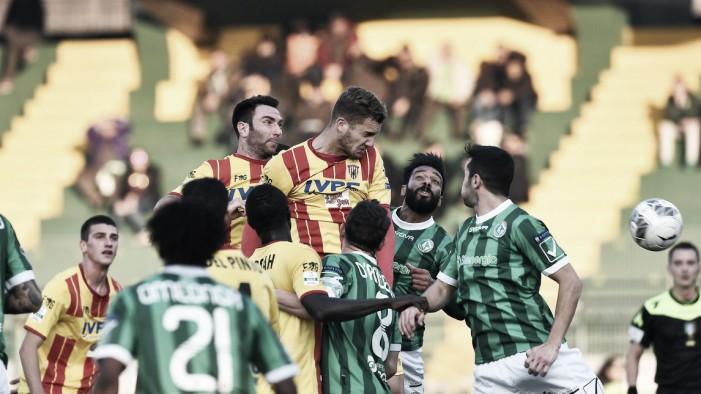Serie B - Pari e patta al Partenio, il derby termina 1-1
