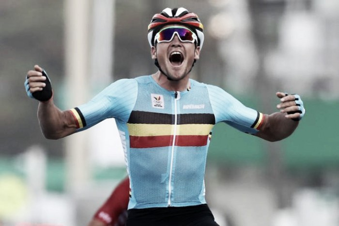 Rio 2016: Greg Van Avermaet wins Olympic Gold after crash strewn road race