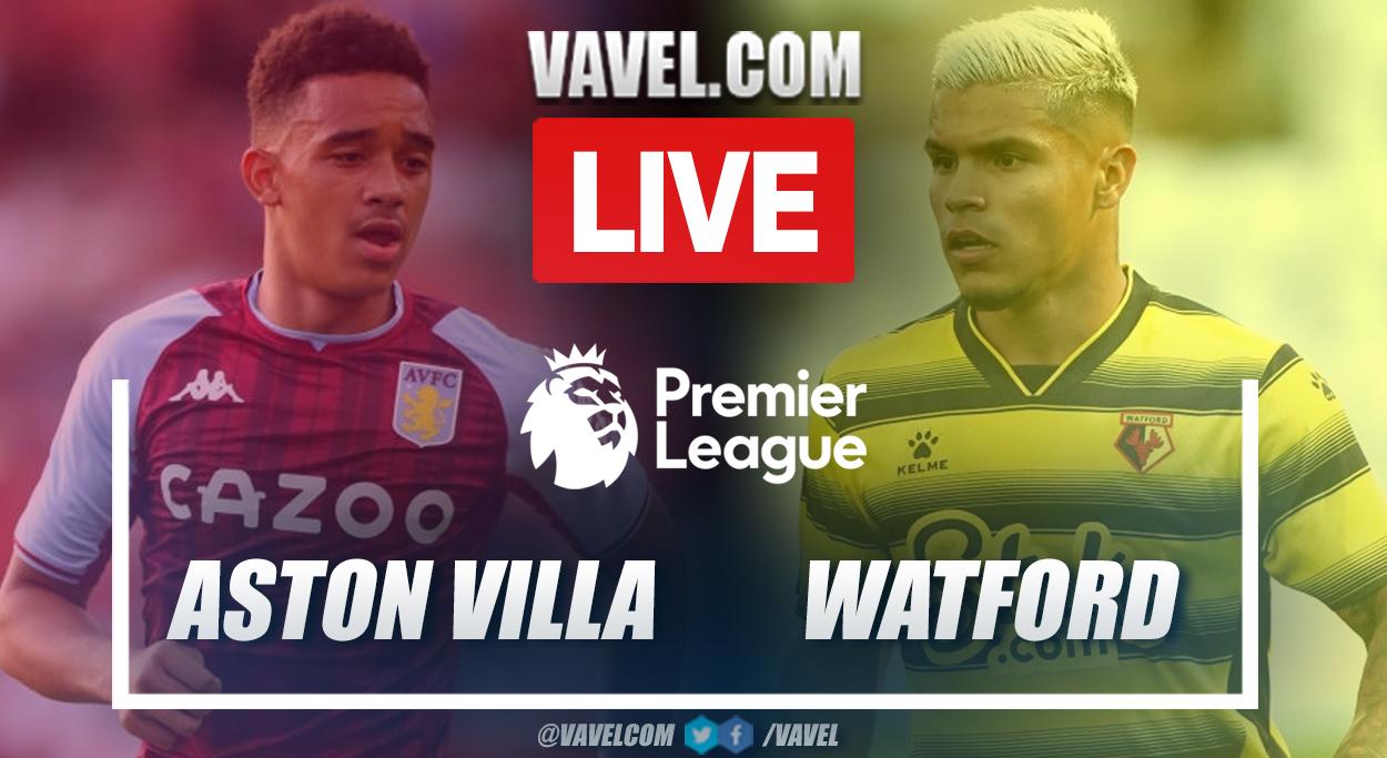 Goals and Highlights: Watford (3-2) Aston Villa in Premier League