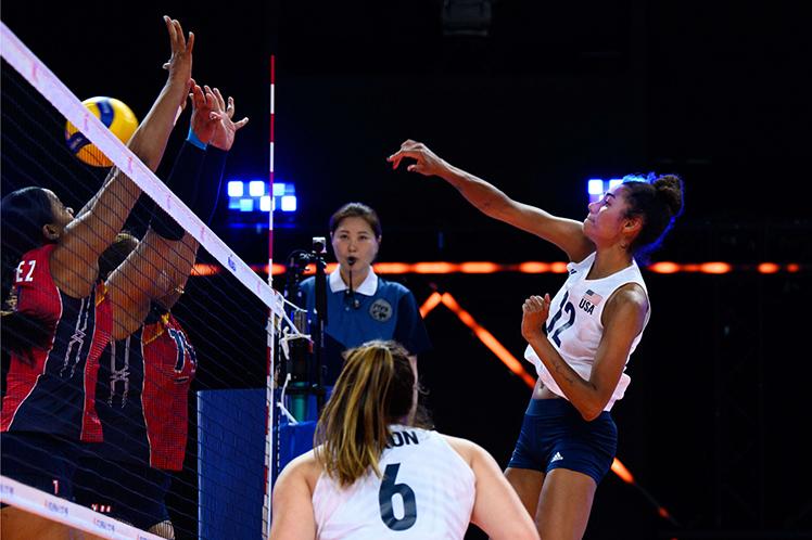 Resumen: República Dominicana 0-3 USA por cuartos de final de voleibol femenil en Juegos Olímpicos 2020