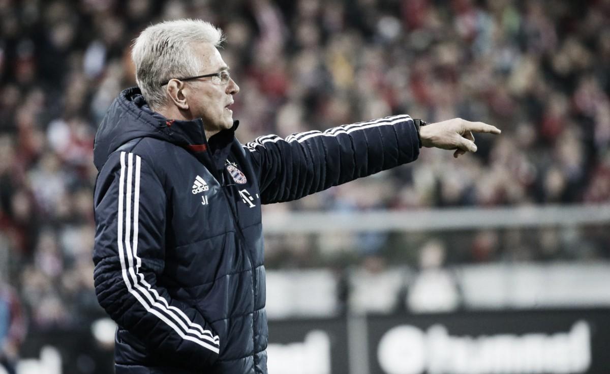 """Jupp Heynckes volta a exaltar elenco do Bayern em goleada: """"Atuação de gala"""""""