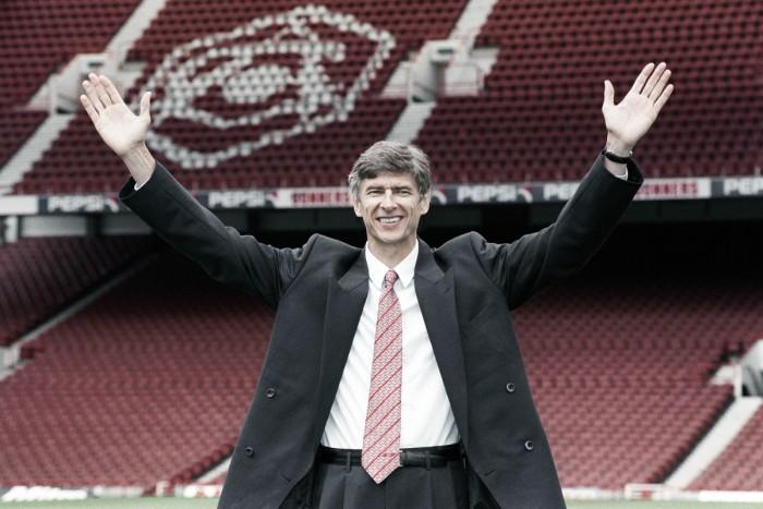 Remembering Arsene Wenger's first season at Arsenal
