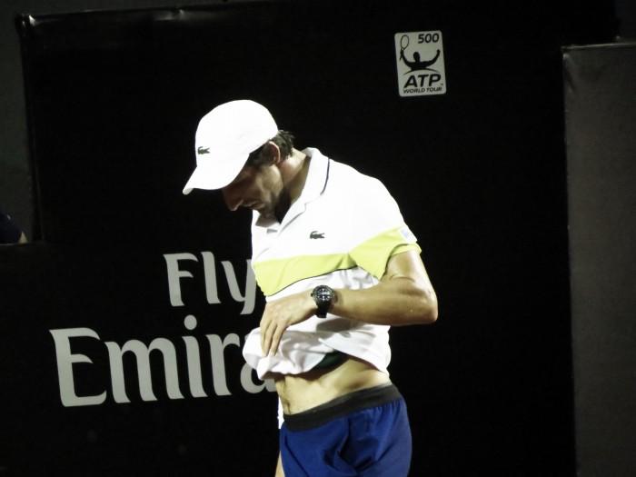 Atual campeão, Pablo Cuevas decepciona e cai na primeira rodada do Rio Open 2017