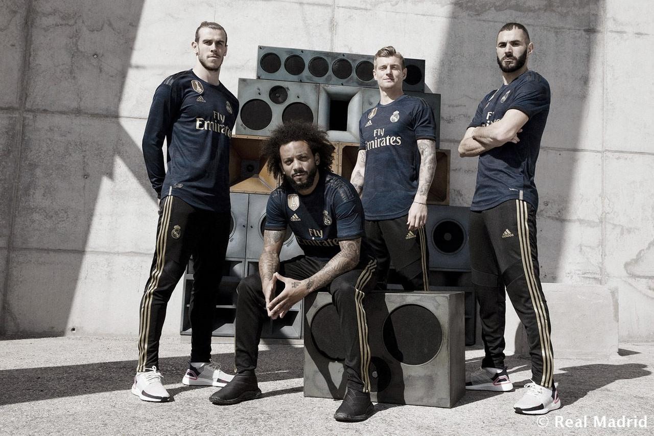 El Real Madrid presenta su segunda equipación