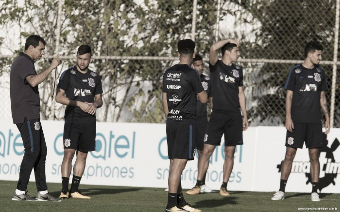 Fábio Carille define Corinthians com mudanças para duelo contra Patriotas