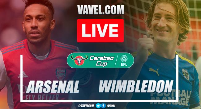 Goals and highlights: Arsenal 3-0 AFC Wimbledon in Carabao Cup 2021