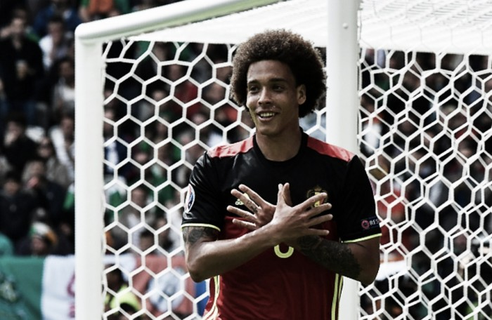 "Belgium needed Ireland victory after ""a tough week"" says goalscorer Axel Witsel"