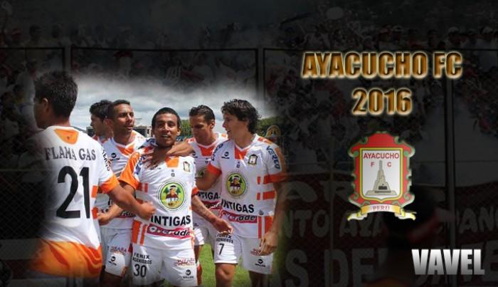 Ayacucho FC 2016: Lavarse la cara