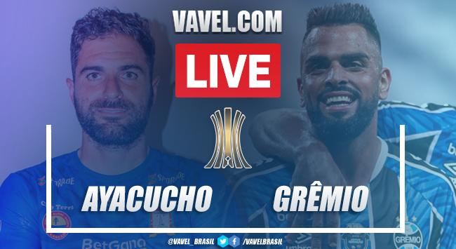 Gols e melhores momentos de Ayacucho 1 x 2 Grêmio pela Copa Libertadores