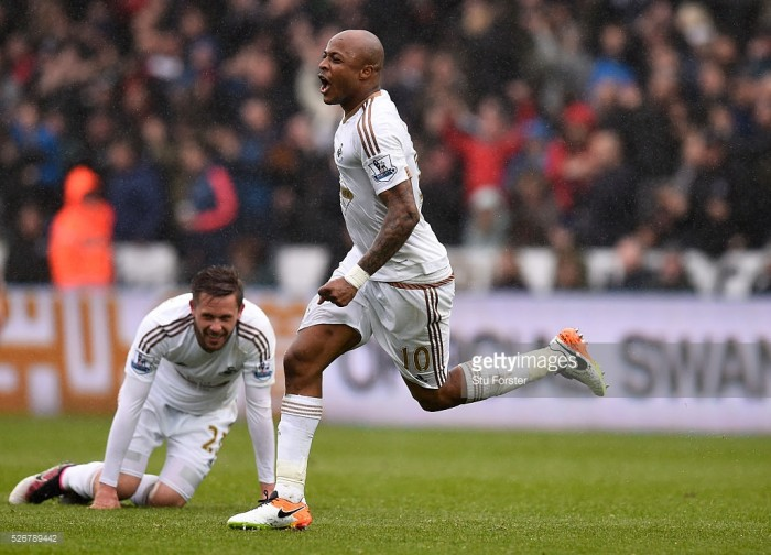 Swansea City bring Andre Ayew back to the Liberty Stadium for record fee
