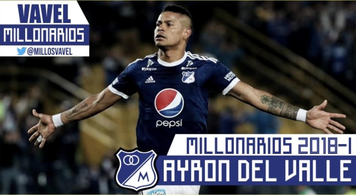 Millonarios 2018-I: Ayron del Valle