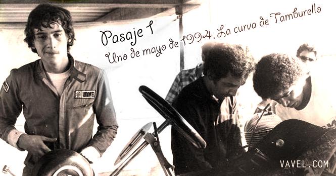 Pasaje 1 - Uno de mayo de 1994, la curva de Tamburello