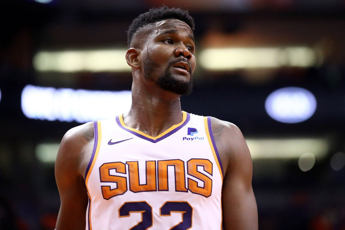 Deandre Ayton is back... even if the Suns aren't