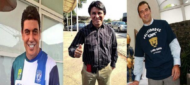 Elías Ayub, Claudio Suarez y Joaquín Beltrán candidatos a la Vicepresidencia de Pumas