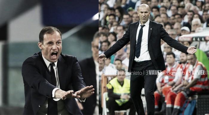 Allegri vs Zidane: la final desde los banquillos