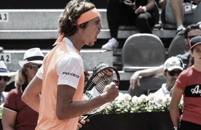 Tennis, impresa di Fognini eliminato Murray agli Internazionali di Roma