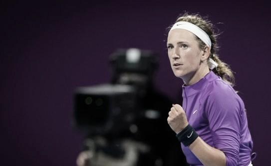Azarenka vai bem nos momentos decisivos e elimina Kuznetsova em Doha