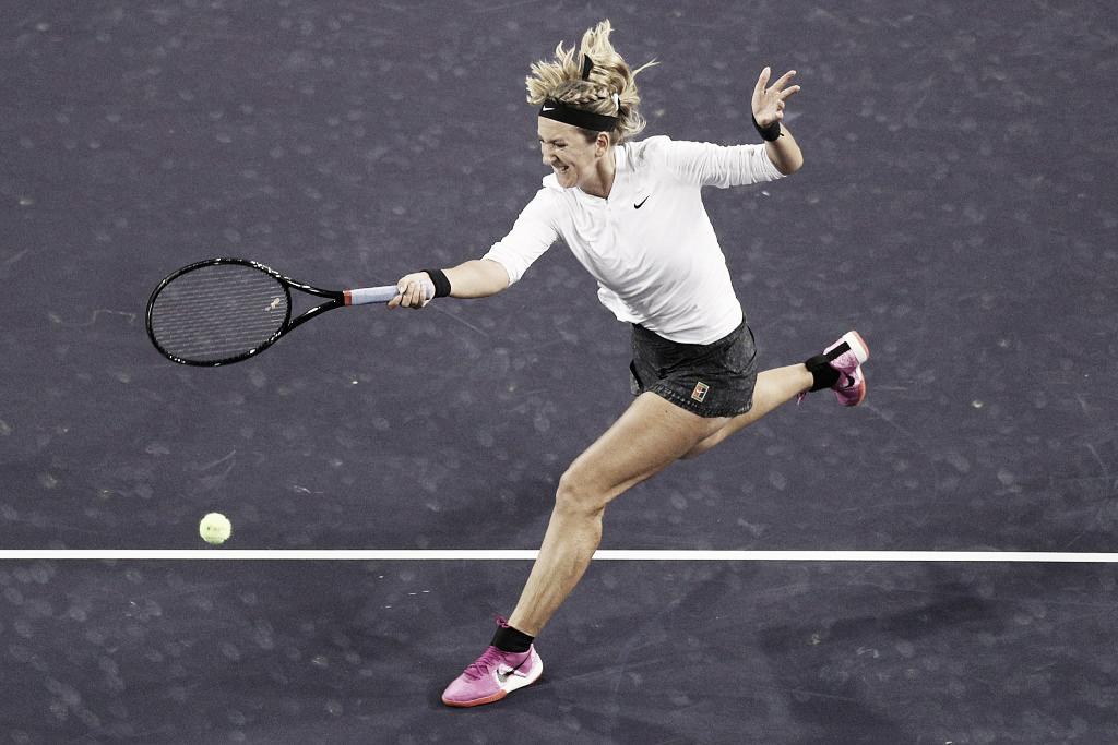 Em duelo de gerações, Azarenka vence compatriota Lapko e vai encontrar Serena em Indian Wells