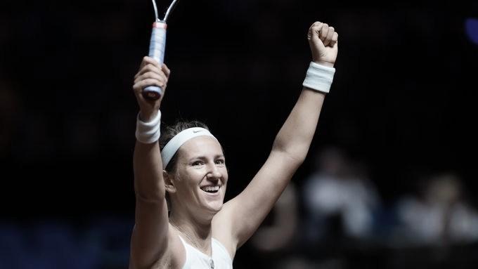 Azarenka vira, elimina atual campeã Pliskova e avança em Stuttgart