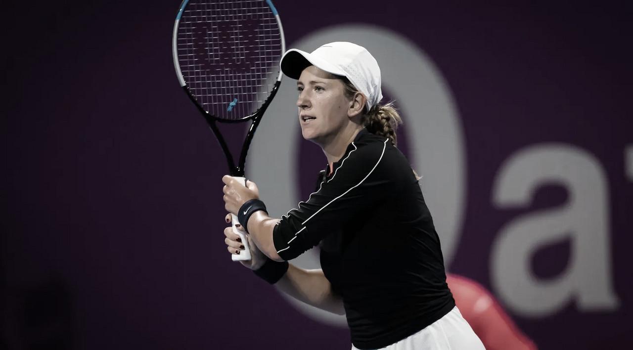 Heroica, Azarenka supera dores e bate Svitolina em Doha