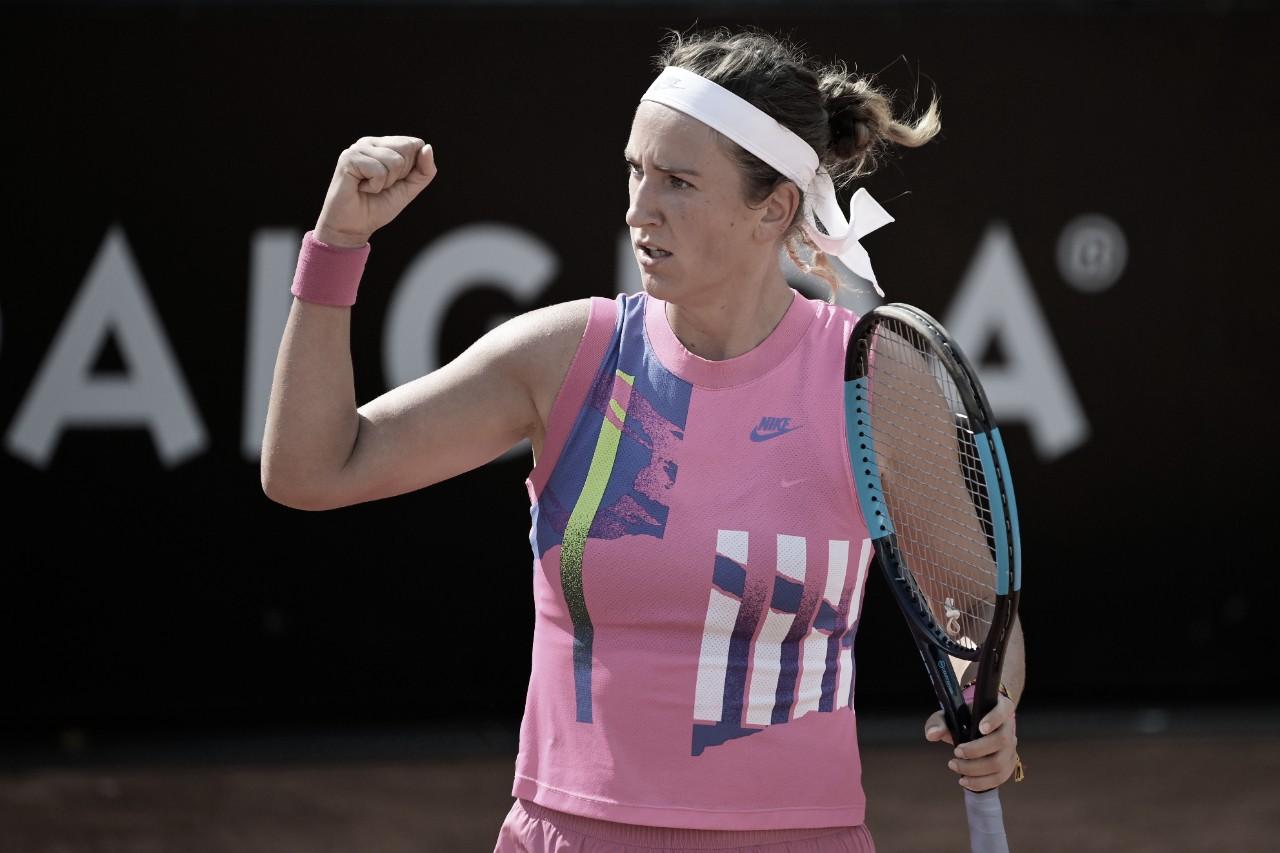 Quatro dias após vice do US Open, Azarenka supera jogo duro contra Venus Williams em Roma