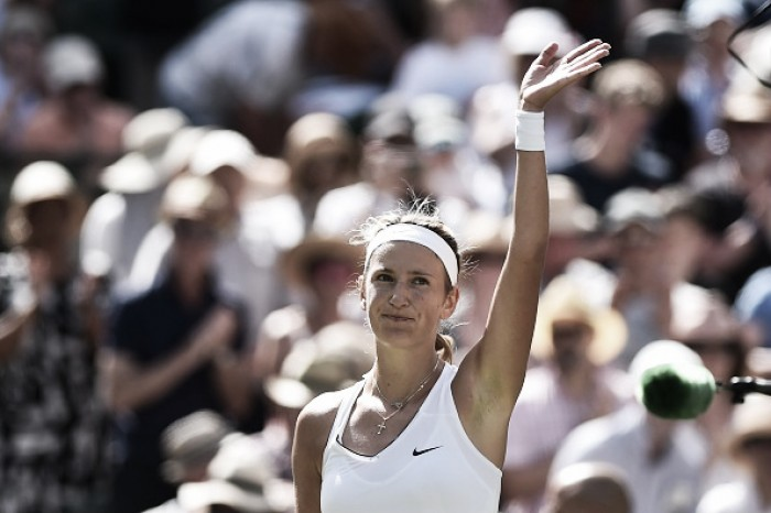 Wimbledon: Victoria Azarenka survives Heather Watson to reach Manic Monday