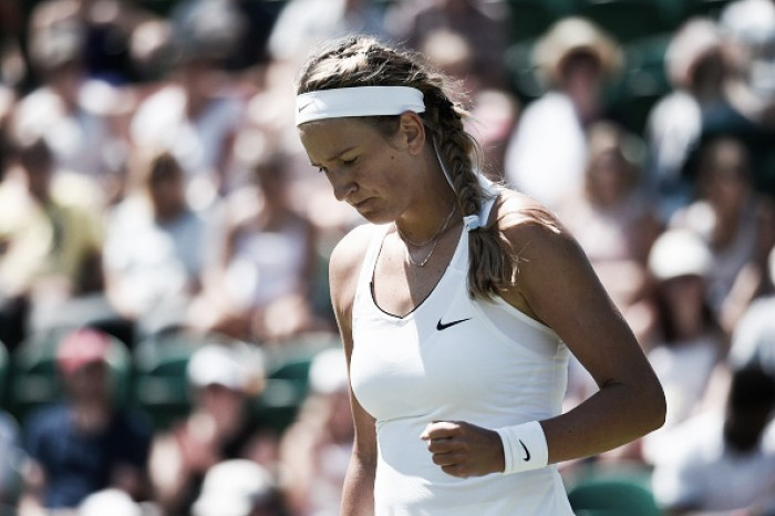 Wimbledon 2017: Victoria Azarenka's comeback from pregnancy off to a shaky start