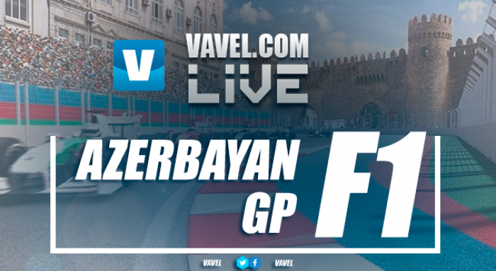Azerbaijan Grand Prix back underway after red flag